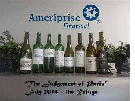 Judgement of Paris - Wine Tasting