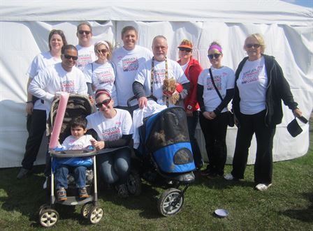 Making Strides Against Breast Cance