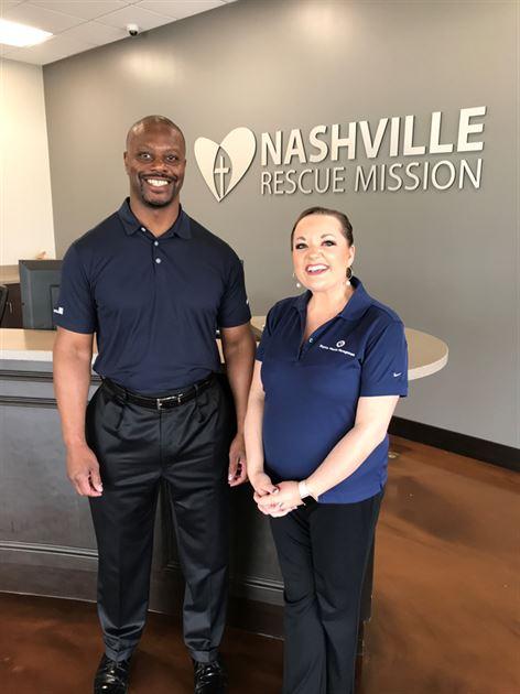 Nashville Rescue Mission Serve Day