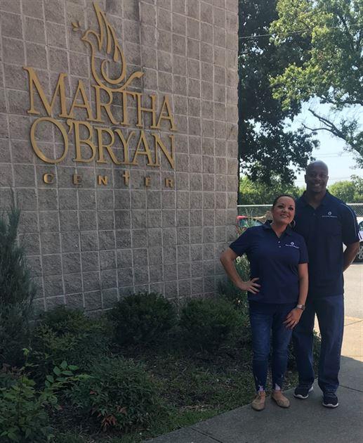 Martha O'Bryan Center Serve Day