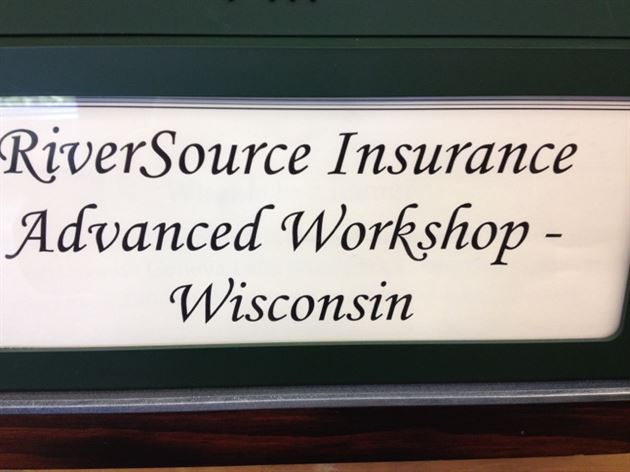 RiverSource Advanced Workshop