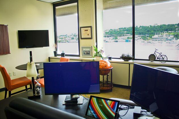 My Lake Union office