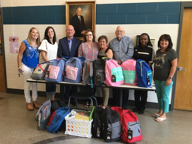 Back to School Backpack Event
