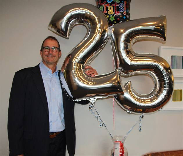 25 Years with Munn & Associates!