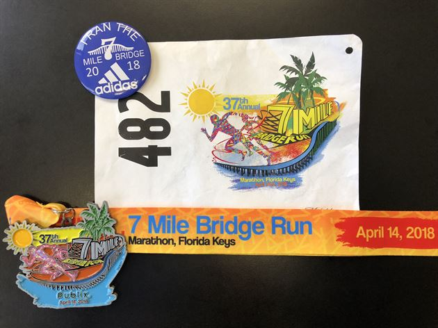 2018 7 Mile Bridge Run FL Keys