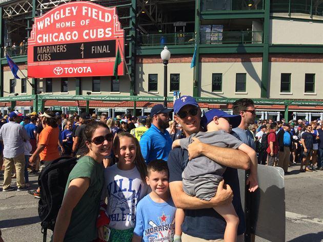 Visitng Baseball Parks