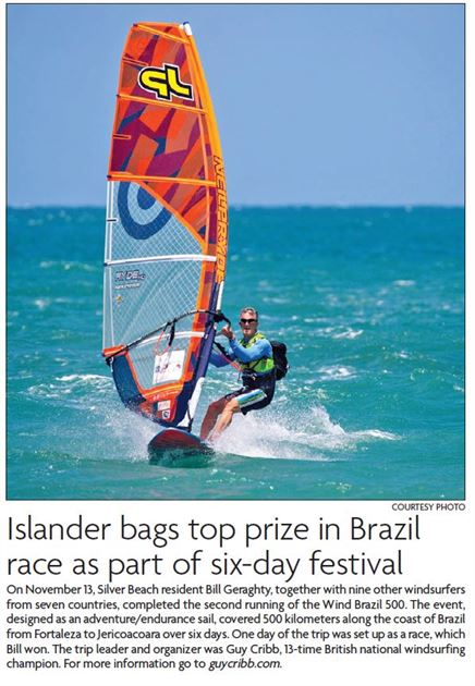 Windsurfing in Brazil
