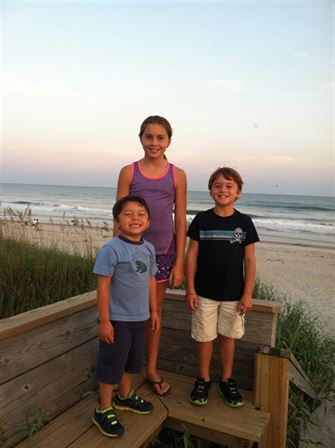 Camping in the Outer Banks 2014