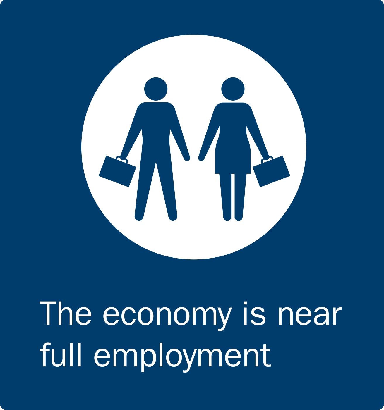 Economy is near full employment