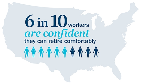 Image: Confident retirement