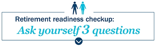 Image: Retirement readiness checkup