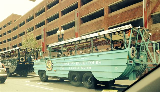 Client Event: Duckboat Tour