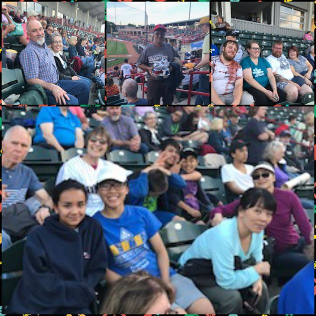 2017 Night at the ball game!