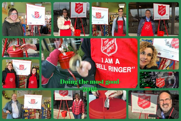 Salvation Army Bell Ringing-2018